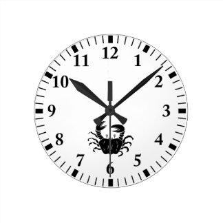 River Crab Wall Clocks