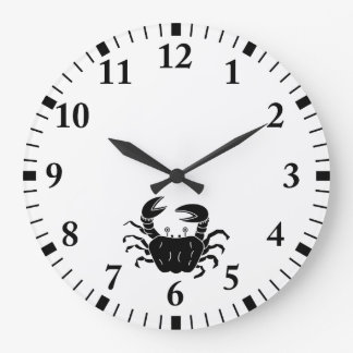 River Crab Wallclocks