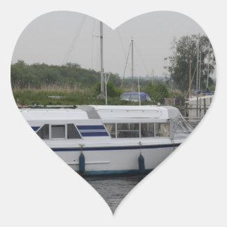 River Cruisers Heart Sticker
