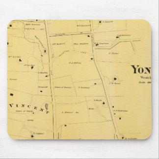 River Dale and Mt St Vincent Atlas Map Mouse Pad