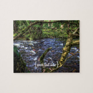 River Dart at Spitchwick Jigsaw Puzzle
