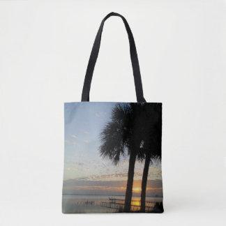 River Dawn Tote Bag
