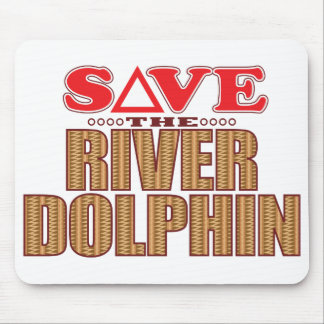 River Dolphin Save Mouse Pad