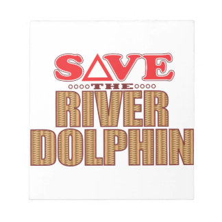 River Dolphin Save Notepad
