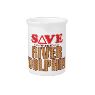 River Dolphin Save Pitcher