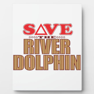 River Dolphin Save Plaque