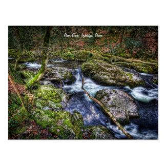 River Erme, Ivybridge, Devon Postcard