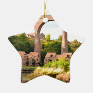 River Esk Christmas Ornament