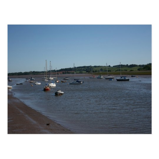 River Exe, Topsham, Devon, UK Postcard