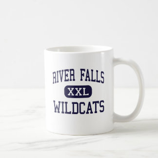 River Falls - Wildcats - High - River Falls Basic White Mug