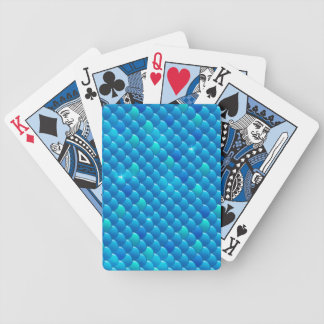 river fish scales bicycle playing cards