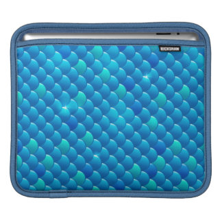 river fish scales iPad sleeve