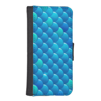 river fish scales iPhone SE/5/5s wallet case