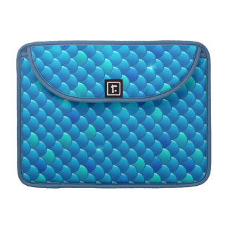 river fish scales sleeve for MacBook pro