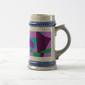 River Floral Lavender Coffee Mugs