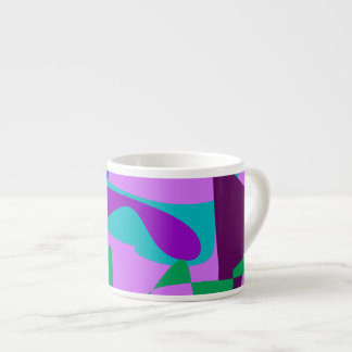 River Floral Lavender Espresso Mug