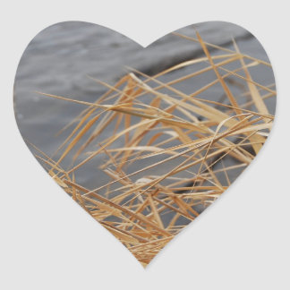 River Heart Sticker