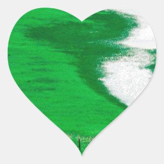 River Humboldt Nevada Heart Stickers
