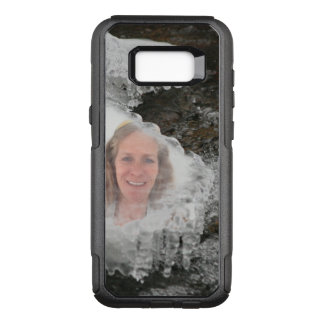River Ice Photo Frame OtterBox Commuter Samsung Galaxy S8+ Case