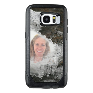 River Ice Photo Frame OtterBox Samsung Galaxy S7 Edge Case