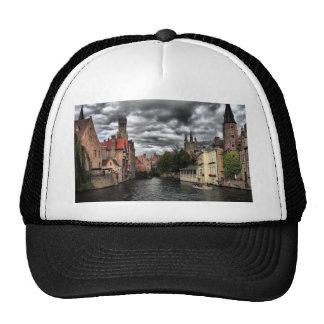 River in Bruges City, Belguim Cap