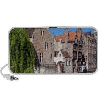 River in Brugge, Belgium Notebook Speaker