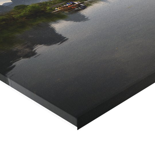 River in heaven canvas print