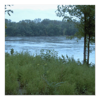 River in Missouri Custom Invitation