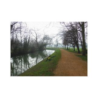River in Oxford Canvas Print
