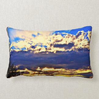 River In the Clouds Lumbar Pillow