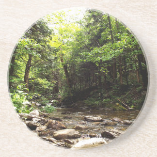 River In the Wood Coaster