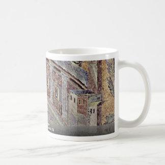 River Landscape  By Arabischer Mosaizist Um 715 Mug