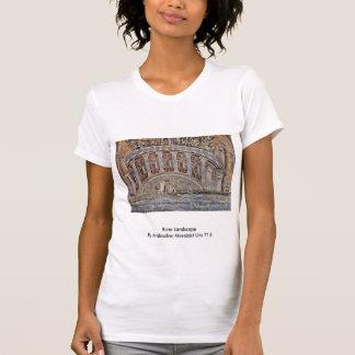 River Landscape  By Arabischer Mosaizist Um 715 T-shirts
