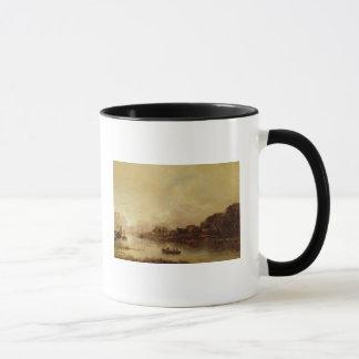 River landscape mug