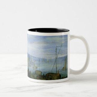 River Landscape Coffee Mugs