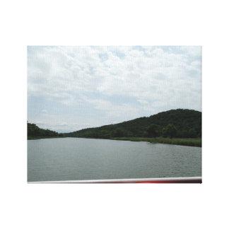 River Landscape Photography Canvas Print Decor