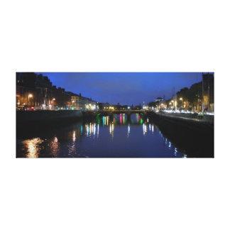 River Liffey, Dublin Canvas Print