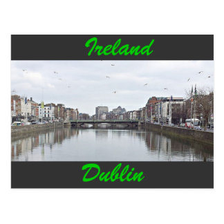 River Liffey Postcard