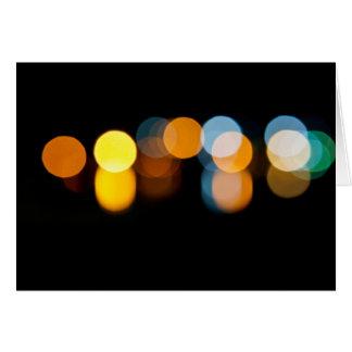 River Lights Card