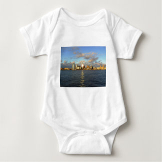 River Mersey & Liverpool Waterfront Baby Bodysuit