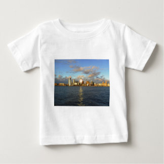 River Mersey & Liverpool Waterfront Baby T-Shirt