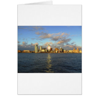 River Mersey & Liverpool Waterfront Card
