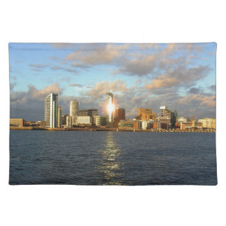 River Mersey & Liverpool Waterfront Placemat