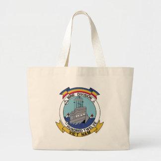 River Mine Division 112 Viet Nam Military Patch Bag