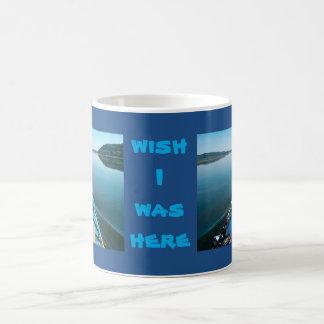 river mirror basic white mug