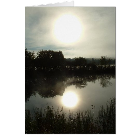 River Mist (Morning) Card