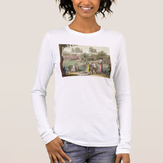 River near San Benedetto, Madagascar, plate 81 fro Long Sleeve T-Shirt