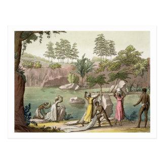River near San Benedetto, Madagascar, plate 81 fro Postcard