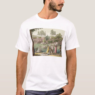 River near San Benedetto, Madagascar, plate 81 fro T-Shirt