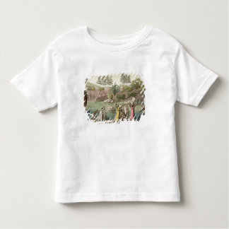 River near San Benedetto, Madagascar, plate 81 fro Toddler T-Shirt